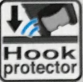 Защита крюка