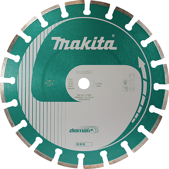 Алмазный диск 350 мм Makita Diamak Plus (B-13297)